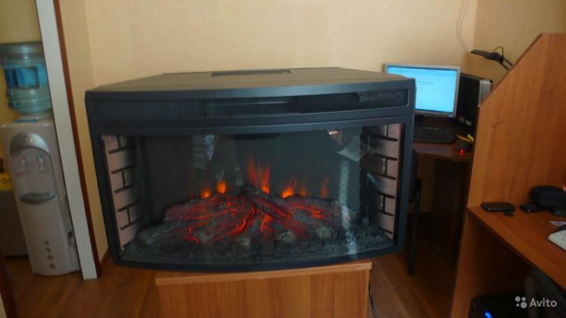 Электрокамины с эффектом живого огня в Леруа Мерлен (16 фото)